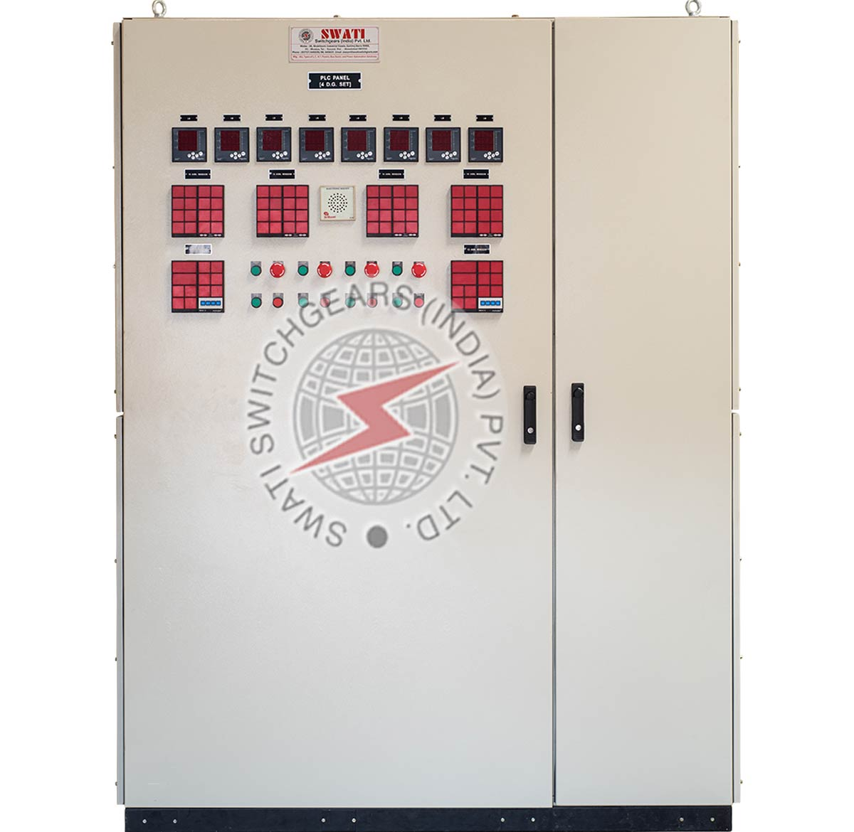 PLC Based Auto Synchronisation Panel