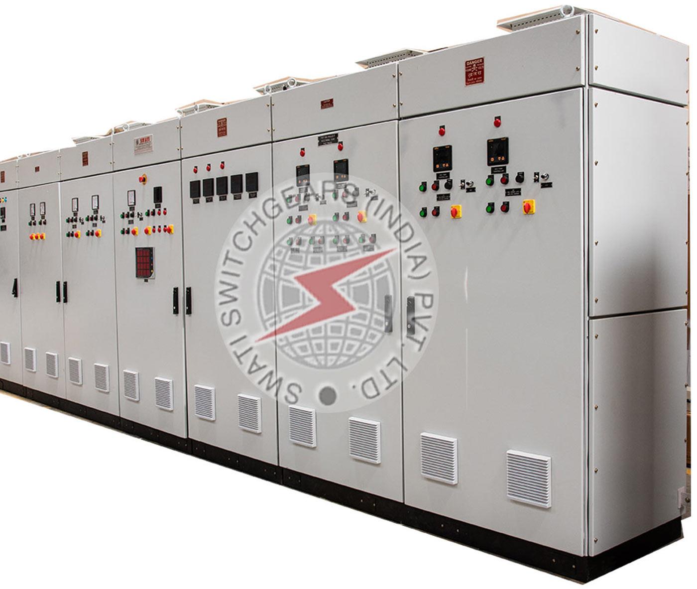 PLC Based Motor Control Centre For Boiler